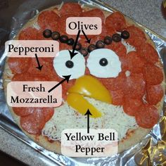 Angry Birds Pizza | Endlessly Inspired
