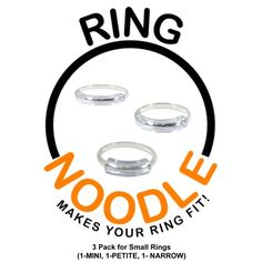 RING NOODLE for THIN rings (1-Mini, 1…