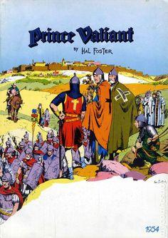 Prince Valiant visits Jerusalem by Hal Foster.