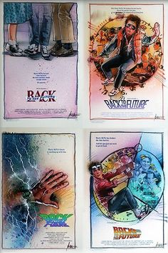 """Drew Struzan on Twitter: """"Time sure does fly… Happy 36th Anniversary to #BackToTheFuture! 🎂 Where were you when you first saw it?… """" Future Logo, Local Movies, Star Wars Film, Film School, Proud Dad, Indiana Jones, Back To The Future, Deadpool Videos, American Artists"""