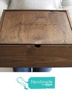 Extra Large Keepsake Box - Engraved Wooden Box - Wood Photo Box - Personalized Walnut Memory Box - Wedding Card Box from Wayfaren http://www.amazon.com/dp/B01C93RP3A/ref=hnd_sw_r_pi_dp_Im5jxb1SPP9G0 #handmadeatamazon