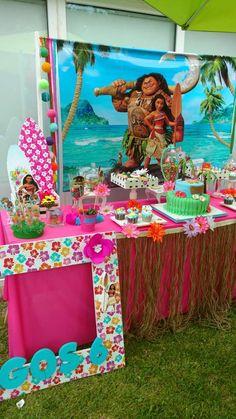 Moana Birthday Party Ideas | Photo 12 of 17