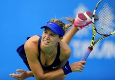 Eugenie Bouchard has gone deep at three Grand Slams this year, and could go all the way in Singapore. (AP Photo)