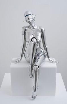 Hajime Sorayama's Futuristic Portrayals of Bio-mechanoid Women | Hi-Fructose Magazine: