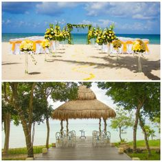Whether you prefer to celebrate your love with the sand beneath your feet or standing under a picturesque gazebo, Sunscape Sabor Cozumel has just what you're looking for! Destination Wedding Inspiration, Destination Weddings, Wedding Ideas, All Inclusive Family Resorts, January 2018, Cozumel, Resort Spa, Vacation Destinations, Gazebo