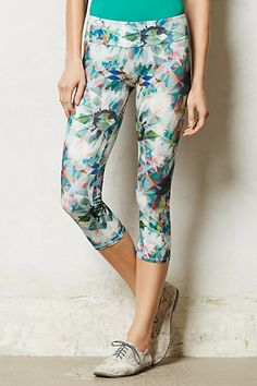 diamond burst leggings | anthropologie