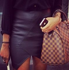 Ummm want that bag and love the skirt!!!