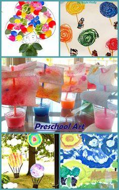 Summer Preschool Art Projects.