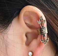 Bronze Ear Cuff for all the archers and scouts out there in Amtgard.