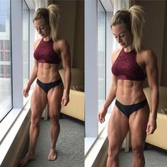 WORK OF ART WOMEN:  SHREDDED THINSPO  INSANELY RIPPED DREAM GYM PHYSIQUE of Sexy Fitness Model : Health Exercise #Fitspiration #Fitspo FitFam - Crossfit Athletes - Muscle Girls on Instagram - #Motivational #Inspirational Physiques - Gym Workout and Training Pins by: CageCult