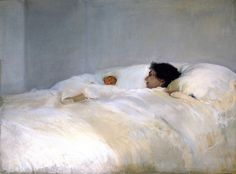 Joaquin Sorolla Y Bastida, Mother ca 1900