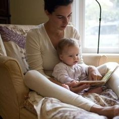 reading time with Mom:::