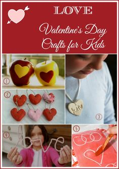 Valentine's Day Crafts for Kids - The Magic Onions