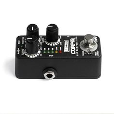CompIQ MINI Pro Compressor is a unique featured compressor pedal, with qualities rivaled only by expensive studio gear. It provides the amount of control and versatility needed for professional audio compression. Guitar Compressor, Professional Audio, Studio Gear, Bass, Mini, Lowes, Double Bass