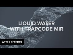 In this tutorial, VinhSon Nguyen from CreativeDojo will teach you how to create stylistic water/liquid using Trapcode Mir in Adobe After Effects. Adobe After Effects Tutorials, Effects Photoshop, Video Effects, Make Tutorial, After Effect Tutorial, Film Effect, Special Effects, Video Editing, Motion Design