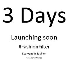 Launching Soon | Fashionfilter.co