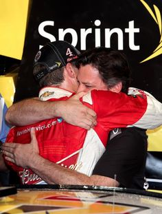 11/16/2014 Tony congratulates Kevin on his 2014 NASCAR Championship