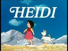 Learn german - HEIDI 1 with subtitles Heidi Cartoon, Cartoon Pics, Dessin Animé Heidi, Old Anime, Anime Manga, Series Manga, Saturday Morning Cartoons, Bd Comics, Learn German
