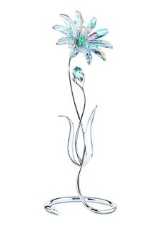 Dellaria Swarovski Paradise Flower.  Swarovski Crystal Figurine.