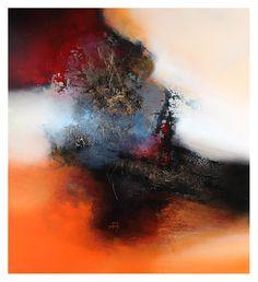 Eelco Maan, Deep Autumn, 100 x 110 cm / available at galerie Spolnik, La Varenne Saint Hilaire I France / www.galerie-spoln...