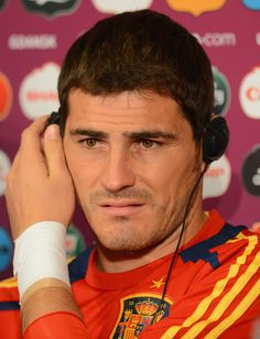 Iker Casillas - Spain Training and Press Conference - Group C: UEFA EURO 2012