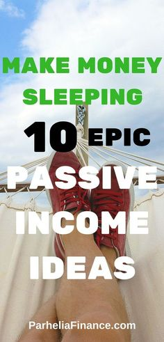 Are you looking to make money sleeping? Take a look at these passive income ideas to have another source of income. You can turn any of them into a full side hustle as well! Click through to take a look. #passiveincome #makemoneysleeping #sidehustle #make Make Money From Home, Way To Make Money, Make Money Online, Home Based Business, Online Business, Business Ideas, Entrepreneur, Money Saving Tips, Money Tips