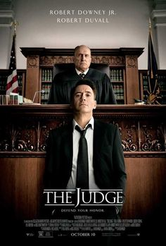 "NEW poster for ""The Judge,"" starring Robert Downey Jr. and Robert Duvall Great film. Film Movie, See Movie, Movie Plot, Cinema Film, Robert Downey Jr., Robert Downey Jr Films, Susan Downey, Sherlock Holmes Film, Tv Series Online"