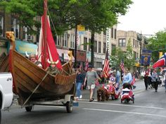 Who doesn't think of Norwegian immigrants when they hear South Brooklyn? Bay Ridge recalls its past as a beacon for Norwegian immigrants with the 17th of May parade, where participants don plastic horned viking hats and travel in viking-ship floats down the neighborhood's main commercial thoroughfares, once home to thousands of immigrants from Norway and known as Little Oslo. But there are few traces of Scandinavian culture in the neighborhood these days. The 17th of May is recognized as…