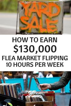 Make money idea | Make money tips | flea market flipping