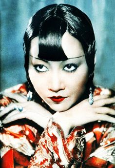 Anna Mae Wong, 1932 - fashion is always reinventing itself, inspired by its history - this pic could well have been shot yesterday...