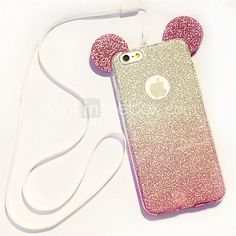 Para Funda iPhone 6 / Funda iPhone 6 Plus Other Funda Cubierta Trasera Funda Brillante Suave TPUiPhone 7 Plus / iPhone 7 / iPhone 6s - EUR €3.91 #Iphone,
