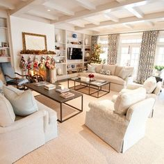 Family room .Stairwell With Sisal Design Ideas, Pictures, Remodel, and Decor - page 3