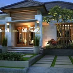 1000+ images about MODEL RUMAH MINIMALIS TYPE 54 on