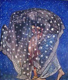 lunar-danse:    John Byam Liston ShawIllustrations for The Garden of Kama Published in 1914