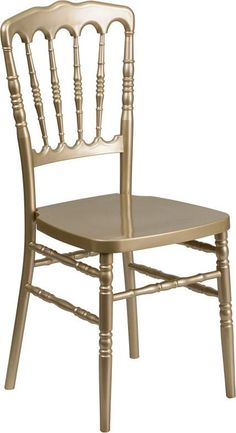 Chiavari chairs have become a classic in the event industry and are also very popular in high profile entertainment venues. The chiavari chair is ideal for weddings, whether lavish or simplistic due t