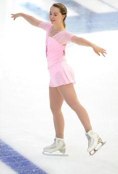 Princess Alexandra of Hanover skates during the junior ladies free skating of ISU Junior Grand Prix of figure skating on September 11, 2015 in Linz, Austria.