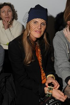 Anna Dello Russo Front Row at Reed Krakoff