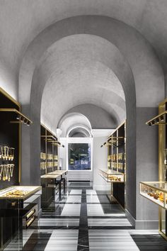 Amber & Art Flagship Store, St. Petersburg, Russia - The Cool Hunter
