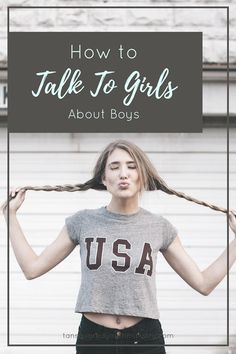 Tips for talking to girls about boys in a small group setting. Tansquared Youth Ministry