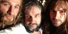 Director Peter Jackson Liveblogs Last Day of Hobbit Trilogy Shooting | Underwire | Wired.com #TheHobbit Aidan Turner