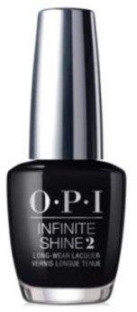 OPI Infinite Shine Nail Lacquer Nail Polish, Black Onyx.