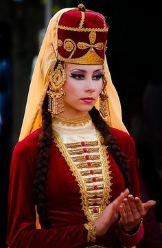 National Costume of Kabardian, a people of the Northwest Caucasus | © Angela Toidze