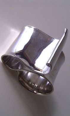 Ring | SHINJI NAKABA - ribbon ring - silver
