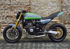 Z953 by D&W | 2003-2006 Kawasaki Z1000 - 1972 Z1 conversion kit by Deals & Wheels - Velbert, Germany (via Inazuma Cafe Racer)