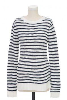 Type 1 Navy Stripe Sweater - $39.97