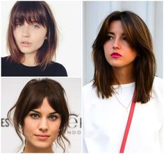 Photos: hairworldmag.com, harpers bazaar.com, lovely-pepa.com Growing out bangs can be a challenge, one that many people resolve with an arsenal of bobby pins and headbands. Accessories are a great he