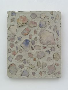 Nicholas Pilato Untitled, 2014 Painted concrete in cast concrete 20 x 16 inches Concrete Art, Mixed Media Collage, Art Fair, Contemporary Art, Art Gallery, Sculpture, Abstract, Drawings, Artwork