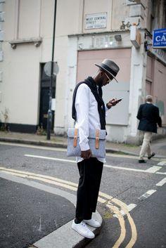 【スナップ】ロンドンのストリートファッション 2015年夏 | SNAP | WWD JAPAN.COM