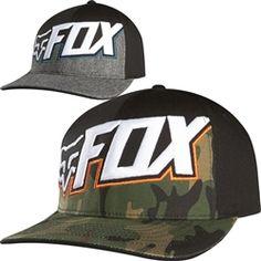 8474cbc2ddc 2014 Fox Racing Replenish Flexfit Casual Motocross MX Apparel Cap Hats Fox  Logo