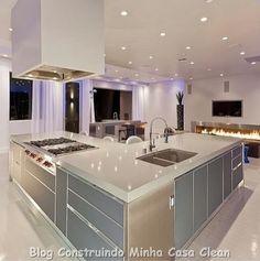 Construindo Minha Casa Clean: Cozinhas Pequenas! Sofisticadas e Planejadas!!!